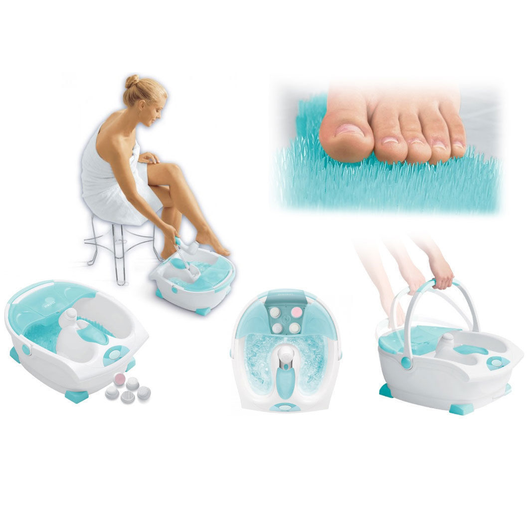 Homedics foot bath instructions