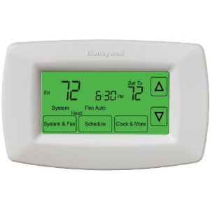 Honeywell 7 day universal touchscreen programmable thermostat manual