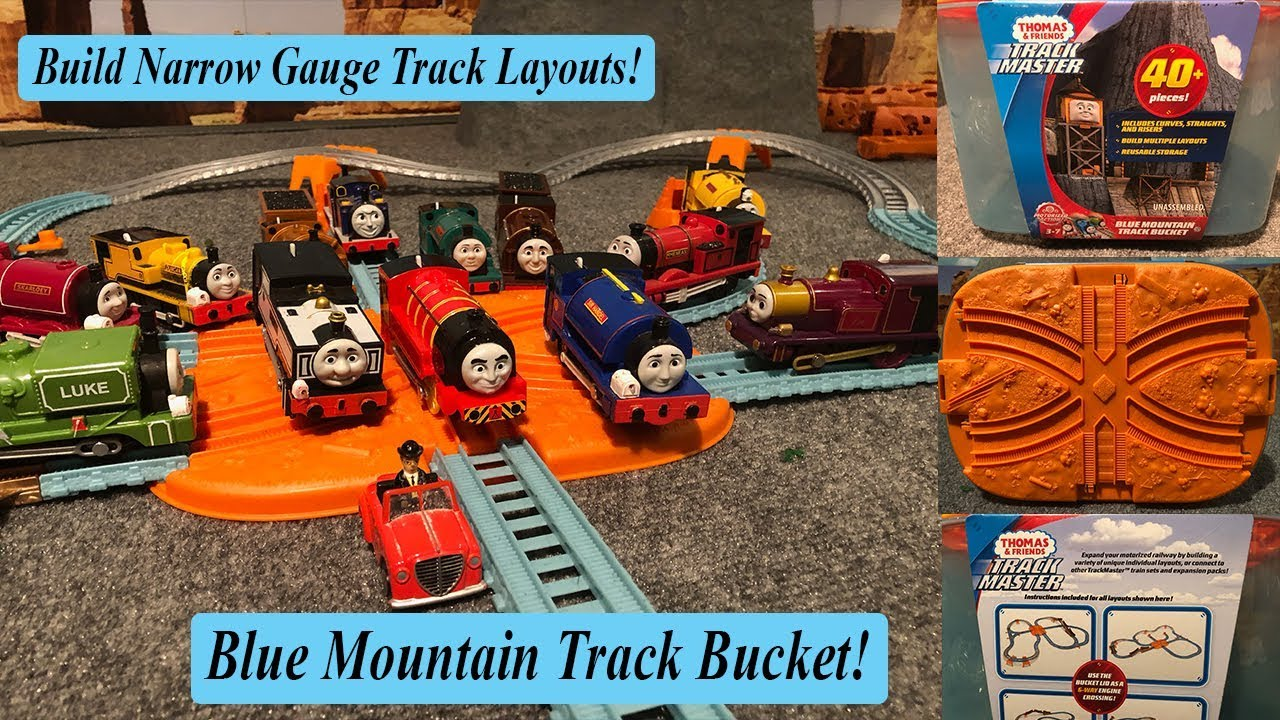 thomas and friends trackmaster railway builder bucket instructions