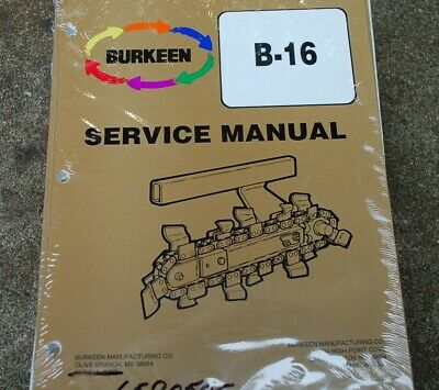 Ditch witch c99 trencher operators manual