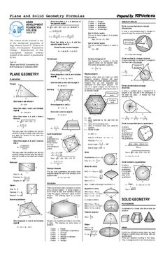 Plane and solid geometry pdf