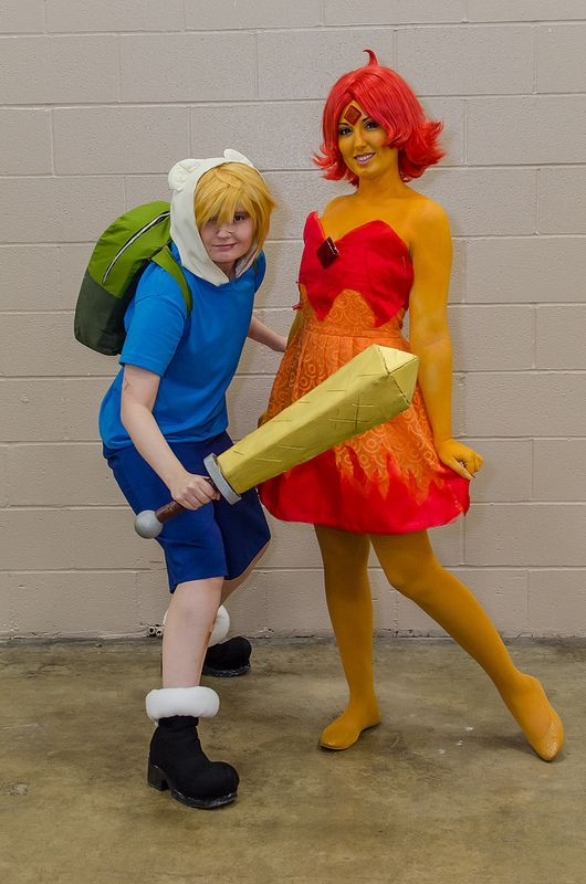 Flame princess cosplay tutorial