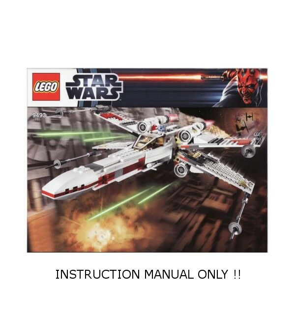 Lego x wing instructions 9493