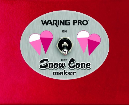 waring pro snow cone maker instructions